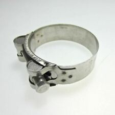 Heavy Duty Stainless Steel Motorcycle Exhaust Banjo Clamp Clip 60mm - 63mm