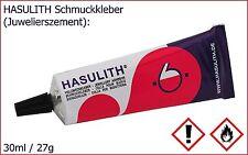 (13,30€/100ml) 30ml HASULITH® Vielzweckkleber für Cabochons, Verschlüsse, Hülsen