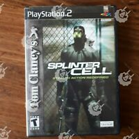 Tom Clancy's Splinter Cell stealth action Redefined ( Playstation 2 PS2 ) Tested