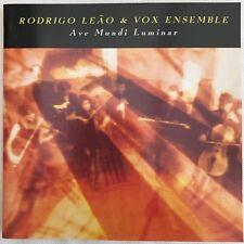 Rodrigo Leao & Vox Ensemble - Ave Mundi Luminar, Sony Masterworks 1994