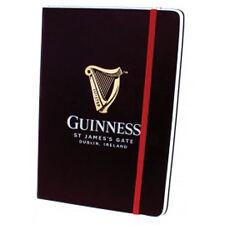 Oficial Guinness librea A5 Piel de Topo portátil con correa elástica