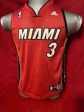 2007 Miami Heat Dwyane Wade Adidas Swingman Jersey YOUTH Medium Size 10-12 NWT!
