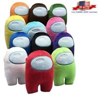 Among Us Game Plush Soft Stuffed Toy Doll Game Figure Imposter Plushie Kid Gifts