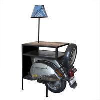 Beistelltisch Roller Casablanca 140cm Metall Regal Kommode Regal Vespa Motorrad
