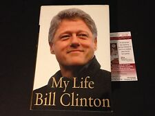 """Bill Clinton President """"My Life"""" Signed Auto Hard Copy Book PSA/DNA Letter"""