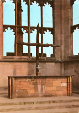 England - Coventry  -  Cathedral - The Altar in the ruins  -  1965