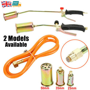 Propane Butane Gas Torch Burner Blow Plumbers Roofers Roofing Brazing 3 Burners