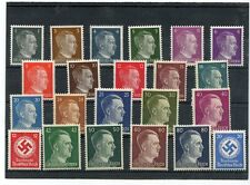 WWII German AUTHENTIC NAZI complete set  Hitler Stamps Plus EXTRA'S REAL STEAL