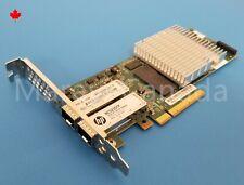 HP NC523SFP 10GB Dual 2-Port Network Card QLE3242-HP 593717-B21 593742-001