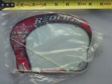 VTG Redline Mini BMX Race Number Plate NOS RL Old School Bike Motor Cross 80's