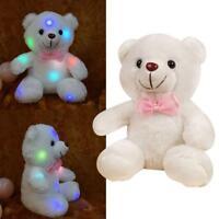 LED Bär Kuscheltier Stofftier Nachtlicht Bunte Glühende Plüsch-Tier