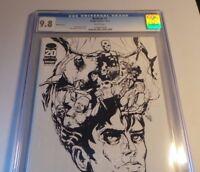 IMAGE Comics BEDLAM #1 CGC 9.8 WHITE 2012 NYCC Retailer Exclusive Sketch Cover