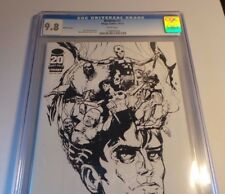 Image Comics Bedlam #1 Cgc 9.8 White 2012 Nycc Retailer Exclusive Sketch Cover