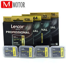 New Lexar 16/32/64/128GB 1066X Compact Flash CF Memory Card UDMA7 For Camera US
