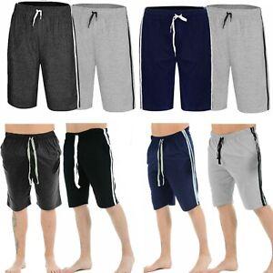 Mens Loungewear Shorts Stretch Nightwear Pjyama Bottoms Sleepwear Pants All Size