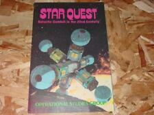 Osg 1979 - Star Quest game - Galactic Combat in the 22nd Century (Unpunched)