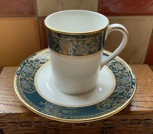 ROYAL DOULTON FINE BONE CHINA CARLYLE COFFEE CUP & SAUCER