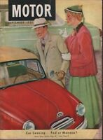 Motor Magazine September 1952 Robt Robinson 100218ame
