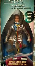 STAR TREK TV SERIES Capt JAMES KIRK 9 inch figure in Environmental Suit.