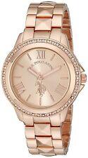 U.S. Polo Assn. Women's USC40078 Rose GoldTone Bracelet Watch, New