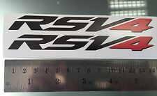 RSV4 Stickers / Decals for Aprilia RSV4 Tail Unit Sides NEW LOGO (ANY COLOUR)