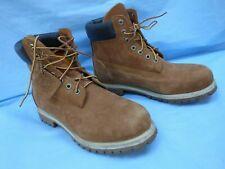 Timberland Men's 6 Inch Premium Waterproof Boots Nubuck UK Size 10 W