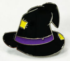 Pin Spooky Halloween Witch Hat Enamel Lapel
