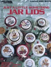 Just a Little Something JAR LIDS for Counted Cross Stitch Leisure Arts 950