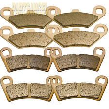 Front Rear Sintered Brake Pads For Polaris Razor RZR 800, RZR 800 S & RZR 570