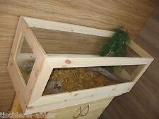 Schildkröten Terrarium 130*55*40cm aus Holz, Landschildkröten, Mäuse, Glas