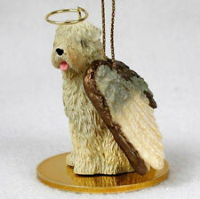 SOFT COATED WHEATEN TERRIER ANGEL DOG CHRISTMAS ORNAMENT HOLIDAY Figurine Statue