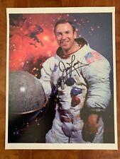 "Nasa Astronaut Jim Lovell hand signed 8.5""x11"" Wss Photo Apollo 13"