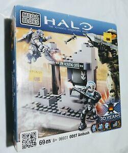 Halo The Authentic Collector's Series Mega Bloks ODST Ambush 96931 Sealed