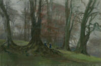 20th Century Pastel - Atmospheric Autumn Woodland