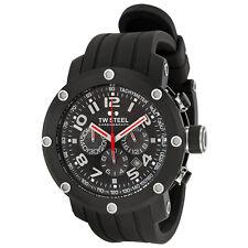 TW Steel Grandeur Tech Black Dial Chronograph 45 MM Mens Watch TW134