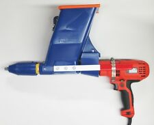 QUIKPOINT Drill-Mate Mortar Gun (3600 Quickpoint w/ Black & Decker Corded Drill)