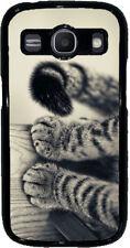 Cover per Samsung Galaxy ACE 4 con stampa Zampette di gatto