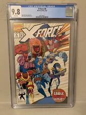 Marvel X-Force #8 CGC 9.8 NM/MINT Cable Origin 1st Domino Cameo
