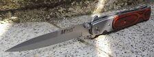 MTech Taschenmesser Messer 440 Stahl Holzgriff Spearpoint Klinge MT121