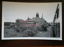 PHOTO  STANHOPE RAILWAY STATION ON THE BURNHAM MARKET TO HEACHAM LINE 12/7/59