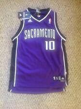 Sacramento Kings Mike Bibby YOUTH PURPLE 2005 Adidas Jersey Large NWT!!
