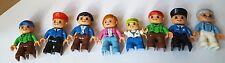 Duplo Lego Figures Bus Driver Police Man Grandpa Boy Kid Dad Mom Multi Lot Free