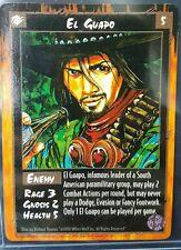 El Guapo Rage CCG War of the Amazon enemy card RARE VHTF!