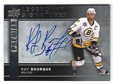 Ray Bourque 14/15 Upper Deck Premier Legendary Signatures Auto LPS-RB