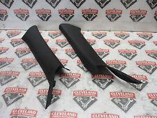 2011 11 Dodge Challenger SRT-8 OEM LH RH Driver & Passenger A Pillars Black