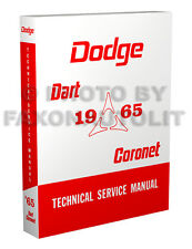 1965 Dodge Coronet Dart Shop Manual 270 440 GT Repair Technical Service Book