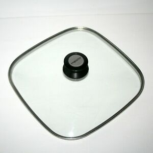 Presto Square Electric Skillet Glass Lid Replacement, 10.5 Inch