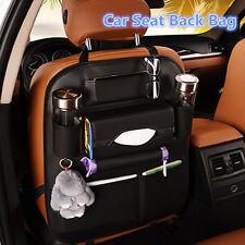 Multifunction Car Seat Back Bag Organizer Storage Cup iPad Phone Bracket Pocket