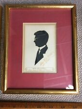 Husband Wife Silhouettes Made In Paris / Fred Sterzer WW2 Holocaust Survivor