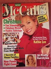 MCCALL'S MAGAZINE December 1994  KATHIE LEE GIFFORD - FRONT COVER
